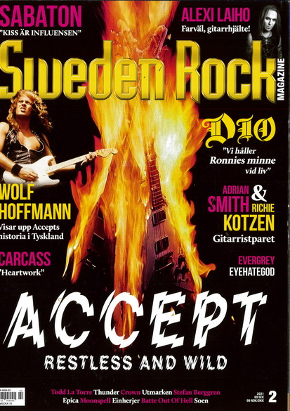 SWEDEN ROCK MAGAZINE 2021: 2