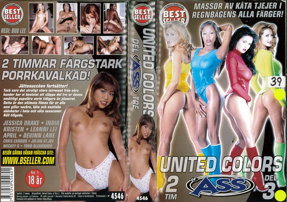 4546 UNITED COLORS OF ASS DEL 3 (VHS)