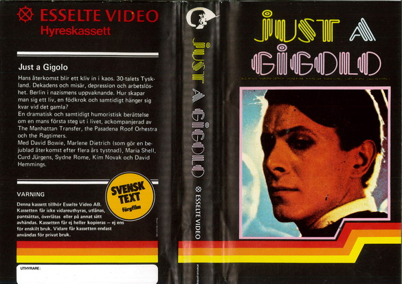 JUST A GIGOLO (VHS)