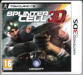 SPLINTER CELL 3D (3DS)