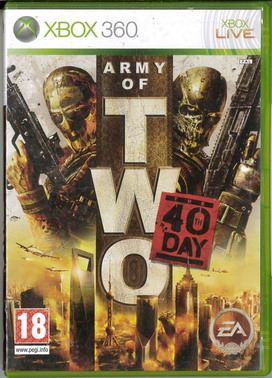 ARMY OF TWO: 40TH DAY (XBOX 360) BEG