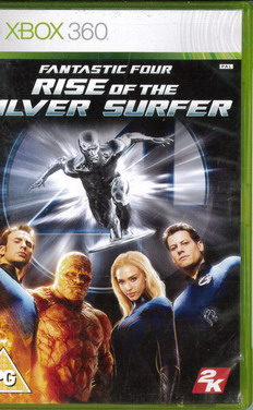 FANTASTIC FOUR: RISE OF THE SILVER SURFER (XBOX 360) BEG