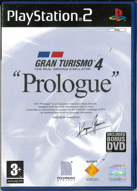 GRAN TURISMO 4 PROLOGUE (ps 2 beg)