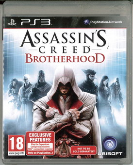 ASSASSIN'S CREED: BROTHERHOOD (BEG PS 3)