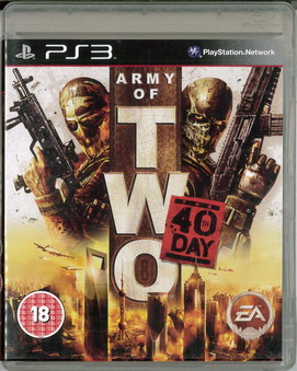 ARMY OF TWO: 40TH DAY (BEG PS 3)