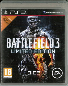 BATTLEFIELD 3 LIMITED EDITION (BEG PS 3)