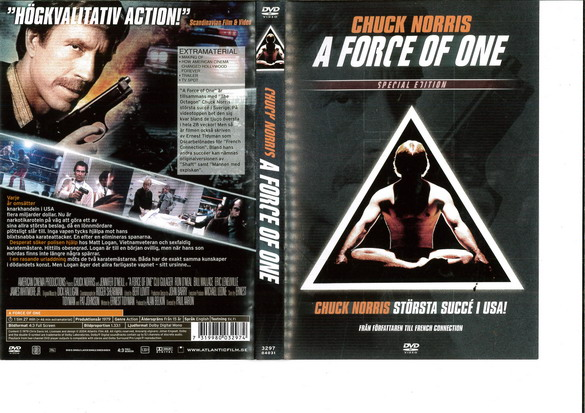 FORCE OF ONE (DVD OMSLAG)