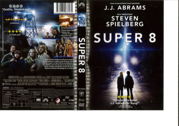 SUPER 8 (DVD OMSLAG)