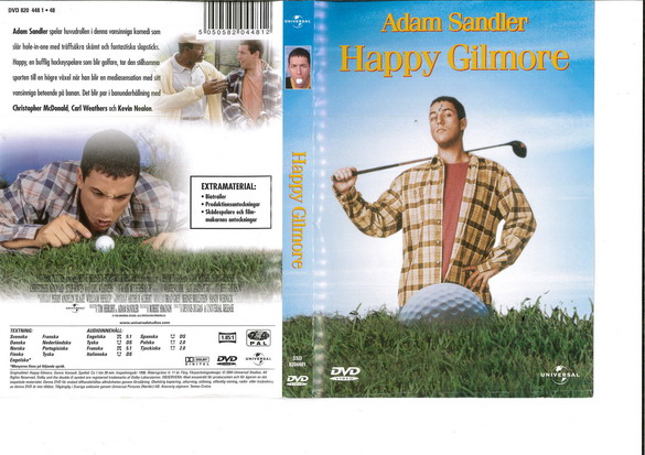 HAPPY GILMORE (DVD OMSLAG)
