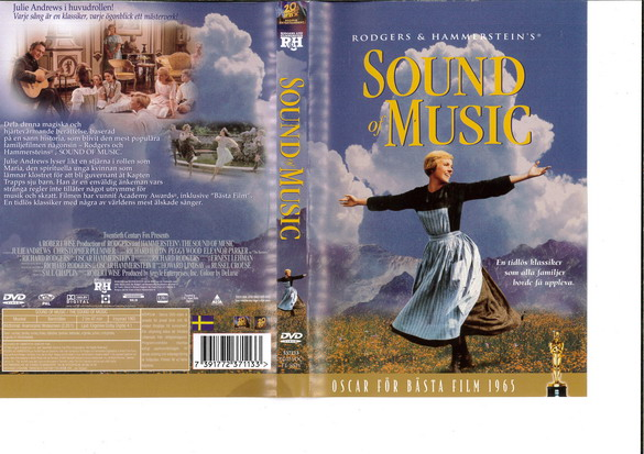 SOUND OF MUSIC (DVD OMSLAG)