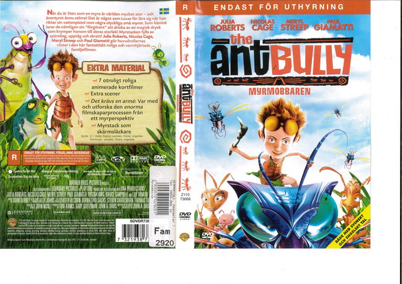 ANT BULLY (DVD OMSLAG)