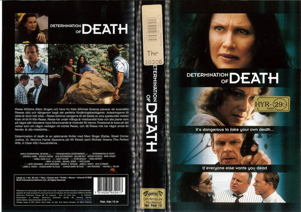 DETERMINATION OF DEATH (VHS)