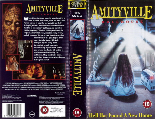 AMITYVILLE - DOLLHOUSE (VHS) UK