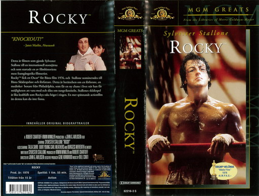 ROCKY (VHS) MGM GREATS