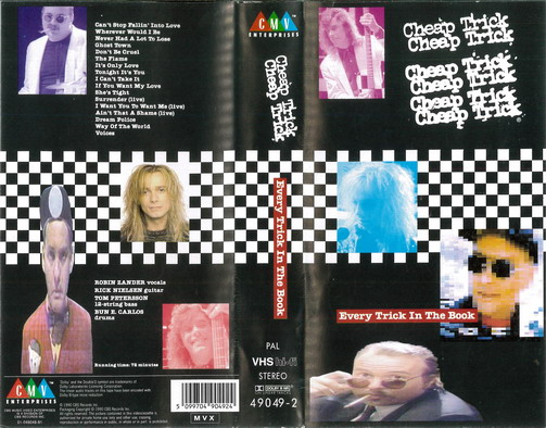 CHEAP TRICK: EVERY TRICK IN THE BOOK (VHS)
