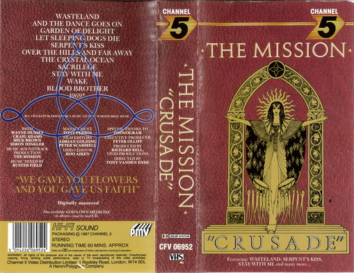 MISSION: CRUSADE (VHS)