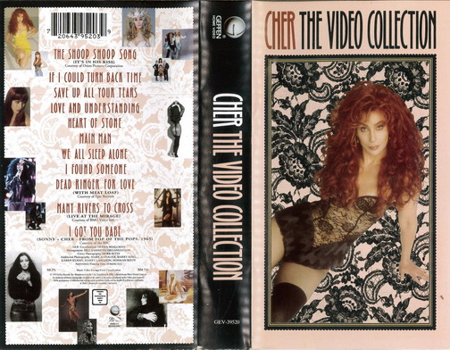 CHER: VIDEO COLLECTION (VHS)