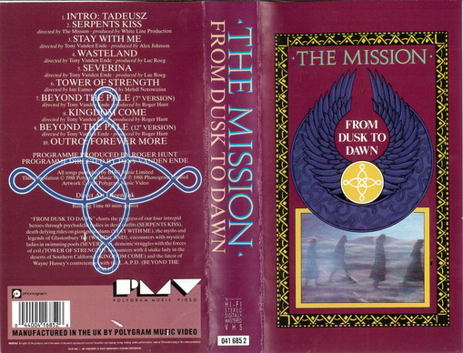 MISSION: FROM DUSK TO DAWN (VHS)