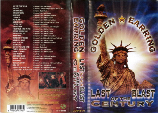 GOLDEN EARRING: LAST BLAST OF THE CENTURY (VHS)