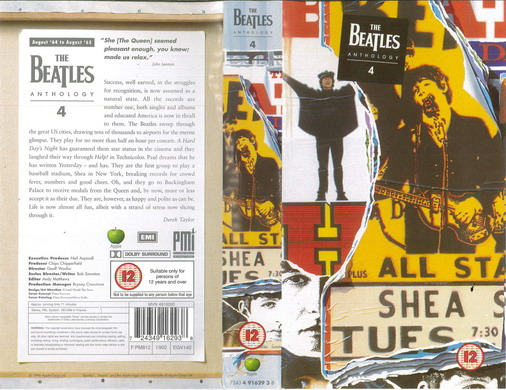 BEATLES: ANTHOLOGY 4 (VHS)
