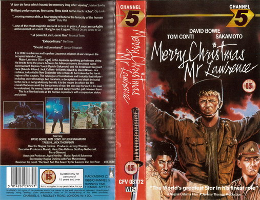 MERRY CHRISTMAS MR LAWRENCE (VHS) UK