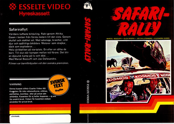 SAFARI - RALLY (VHS)