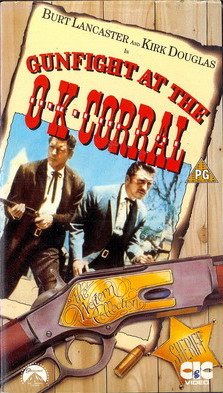 GUNFIGHT AT THE OK CORRAL - UK (VHS)
