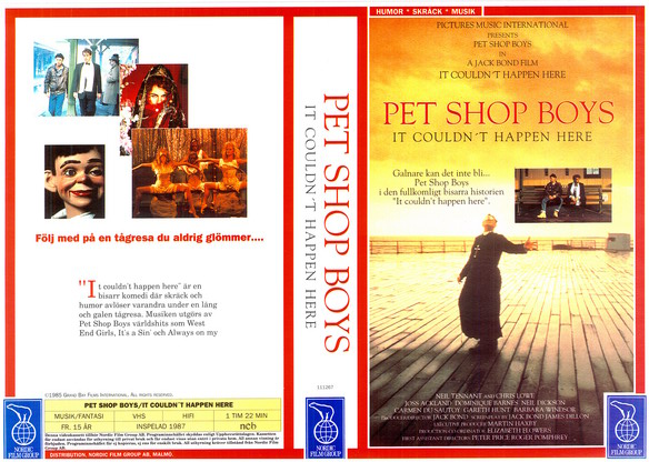 PET SHOP BOYS (VHS)