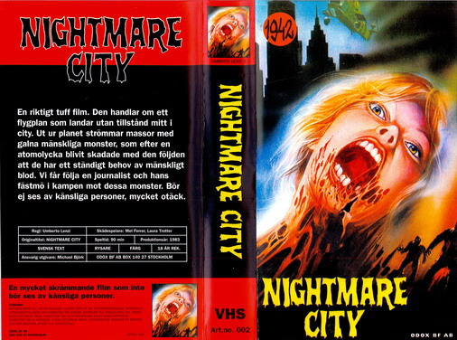 NIGHTMARE CITY (VHS)
