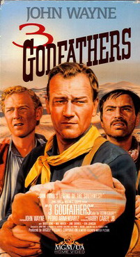 3 GODFATHERS  (VHS-USA IMPORT)
