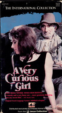 A VERY CURIOUS GIRL (VHS) (USA-IMPORT)
