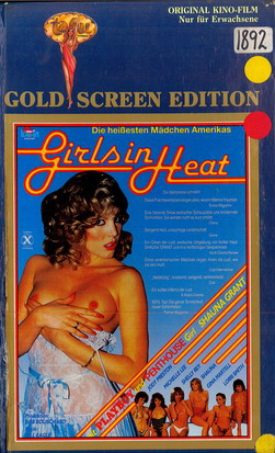 GIRLS IN HEAT (VHS)