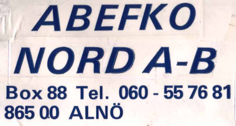 ABEFKO NORD