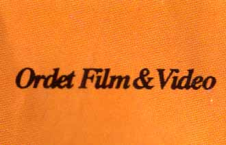 ORDET FILM & VIDEO