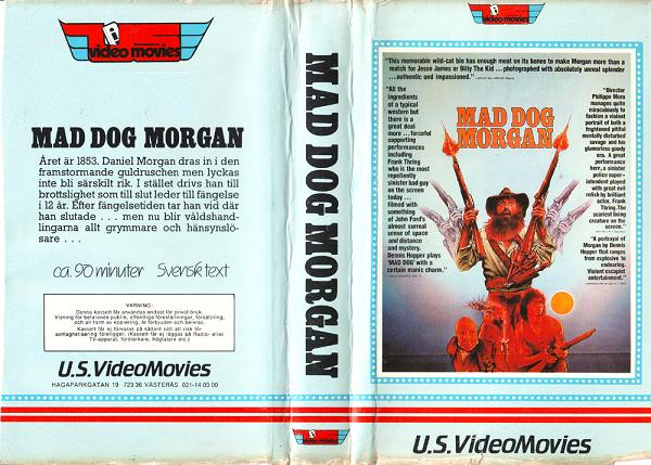 MAD DOG MORGAN (VHS)