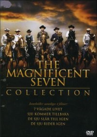 Magnificent Seven Collection (4 disc) beg dvd