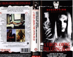 RED 015 A VIRGIN AMONG THE LIVING DEAD (vhs) HOL