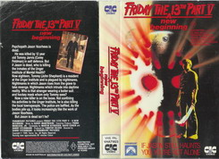 FRIDAY THE 13th 5-AUS (VHS)