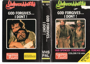 V.101 GOD FORGIVES... I DONT (VHS)