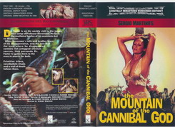MOUNTAIN OF THE CANNIBAL GOD-EC/NL (VHS)