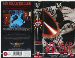 RETN 077 MY DEAR KILLER (vhs) uk
