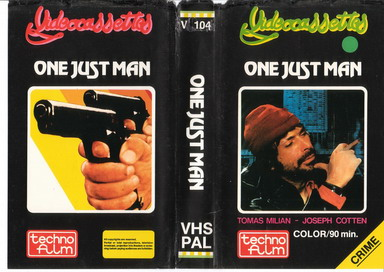 V.104 ONE JUST MAN (VHS)