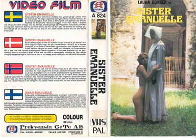 A824 Syster Emanuelle (VHS)