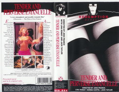 TENDER AND PERVERSE EMANUELLE (vhs) red