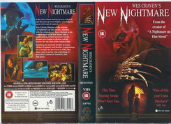 A NIGHTMARE ON ELMSTREET 7 -NEW NIGHTMARE-UK (VHS)