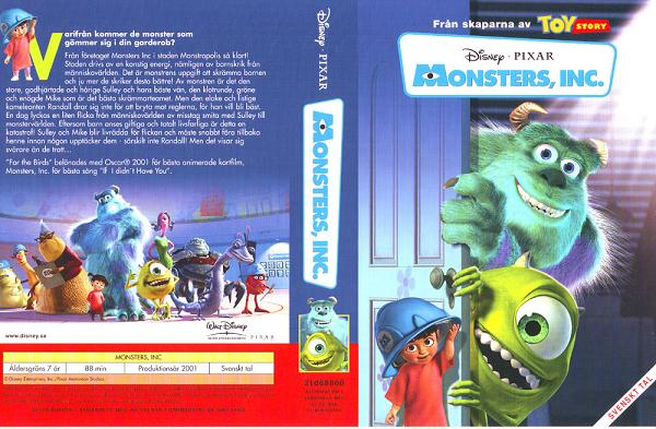 MONSTERS, INC (VHS)