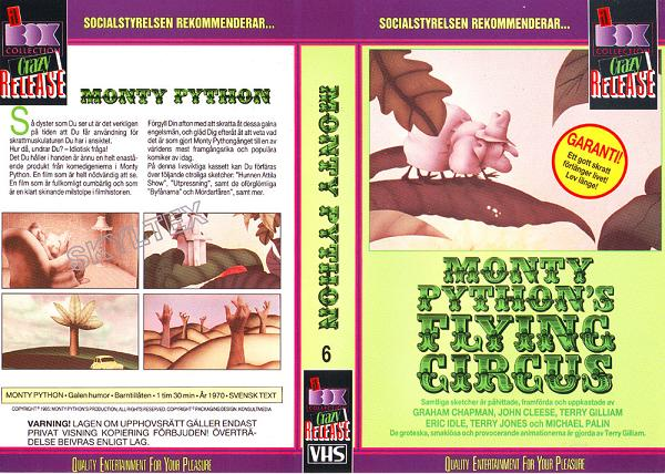 MONTY PYTHON'S FLYING CIRCUS 6 (VHS)