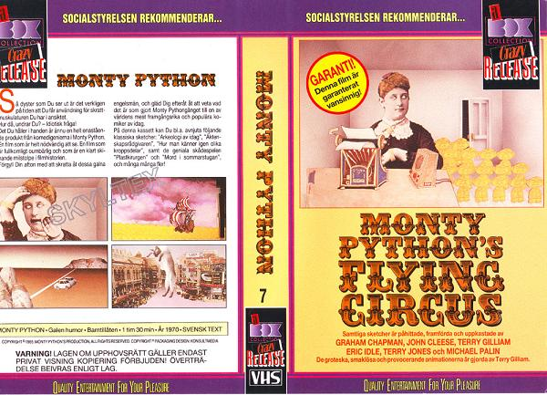 MONTY PYTHON'S FLYING CIRCUS 7 (VHS)