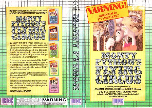 MONTY PYTHON'S FLYING CIRCUS 4 (VHS)