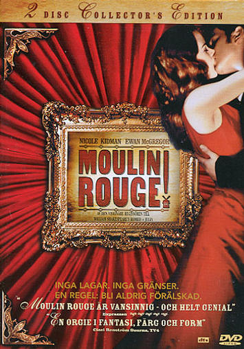 Moulin Rouge (2-disc) beg dvd